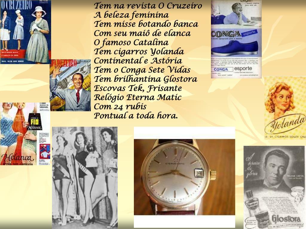 Tem na revista O Cruzeiro