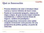 qu es innovaci n