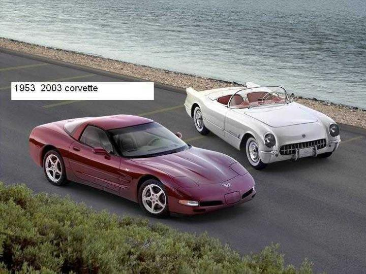Chevrolets et corvettes