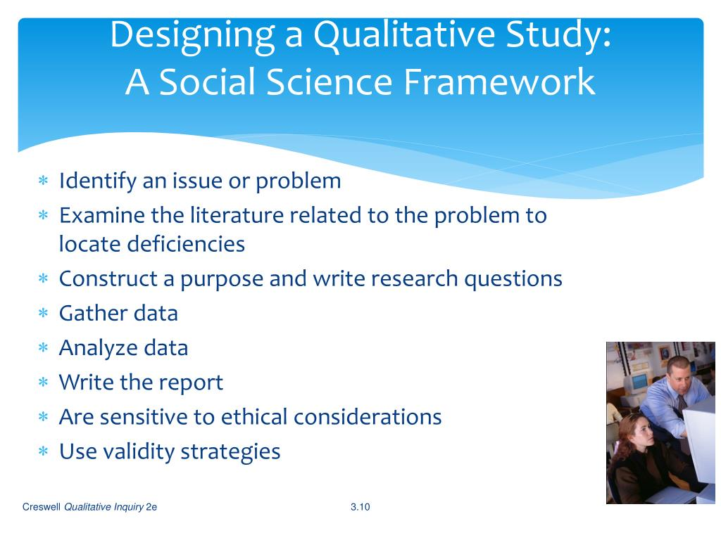 Designing a Qualitative Study: