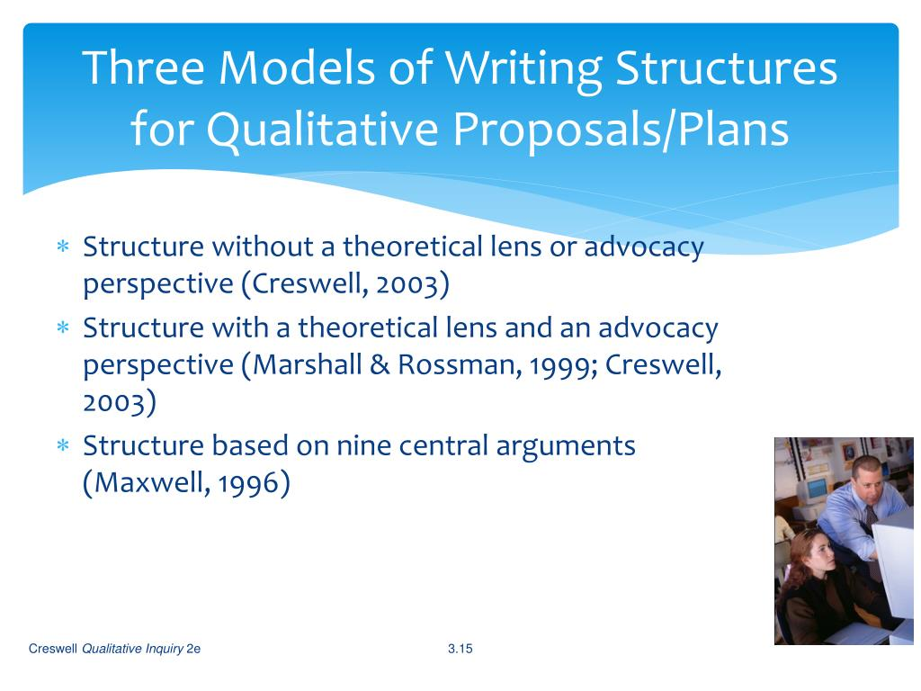 Three Models of Writing Structures for Qualitative Proposals/Plans