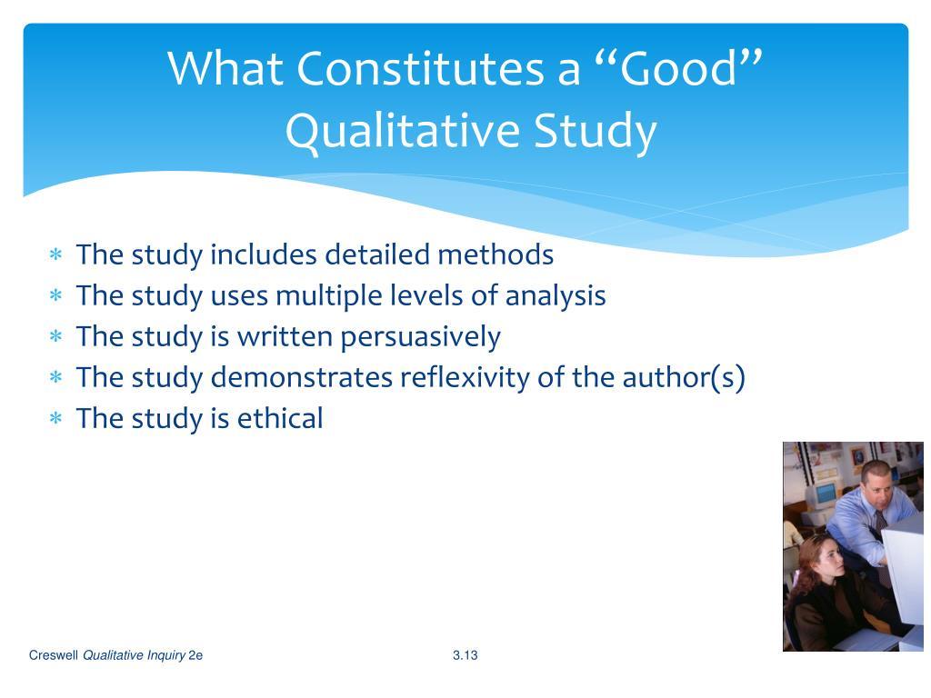 "What Constitutes a ""Good"""