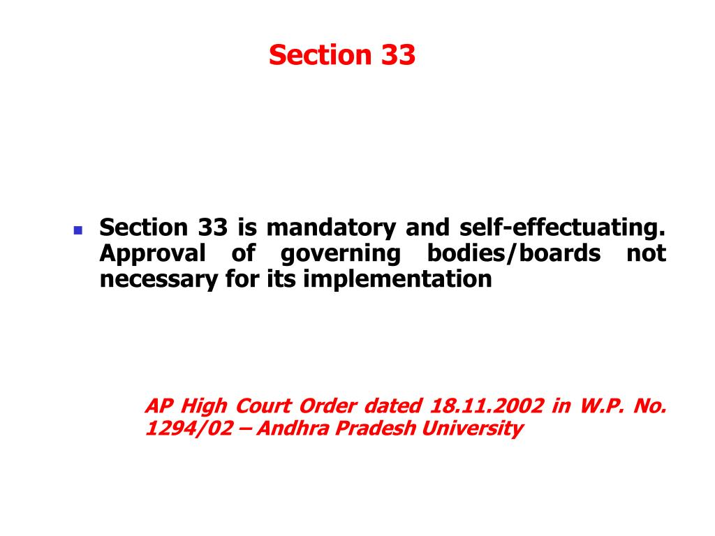 Section 33