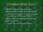 common html tags6