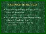common html tags7