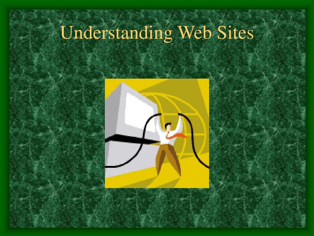 understanding web sites l.