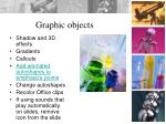graphic objects