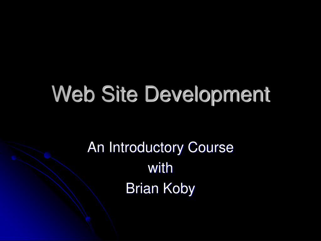 web site development l.