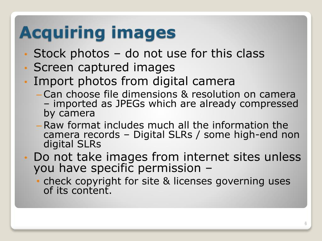 Stock photos – do not use for this class