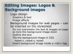 editing images logos background images