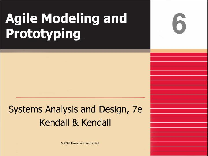 agile modeling and prototyping n.
