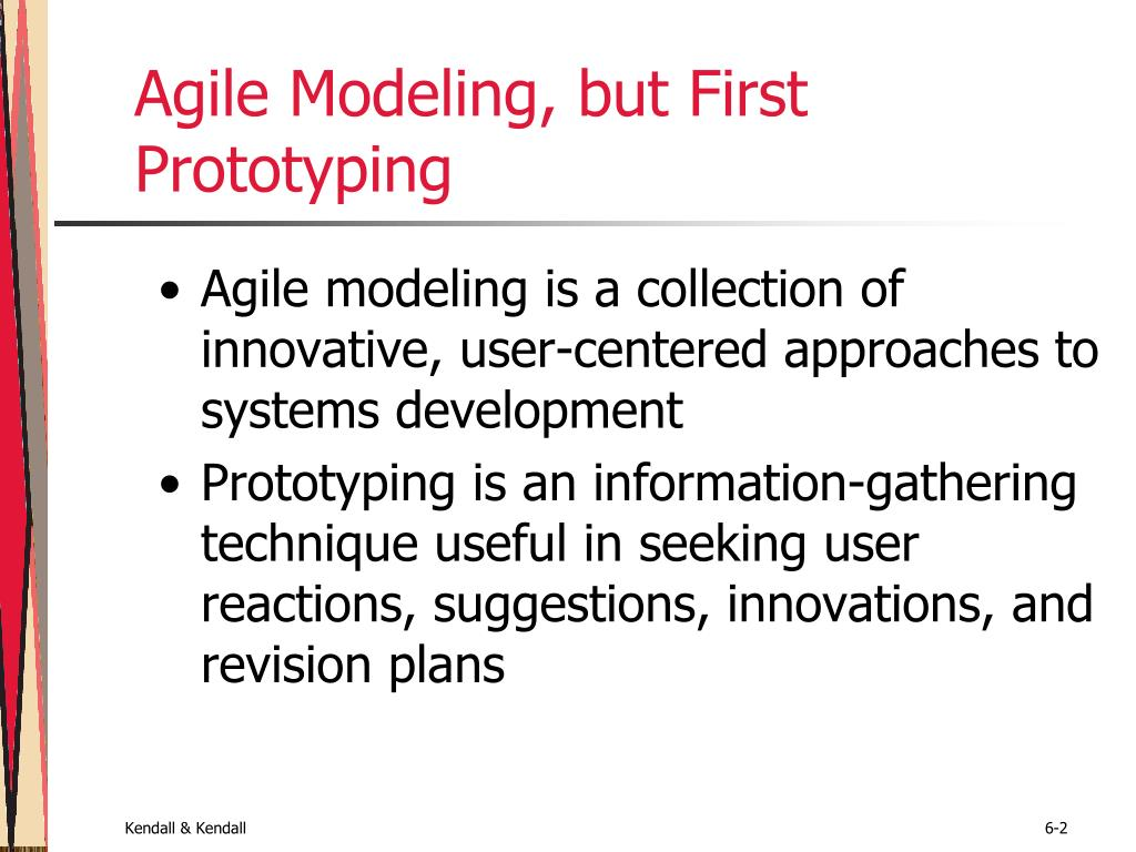 Agile Modeling, but First Prototyping
