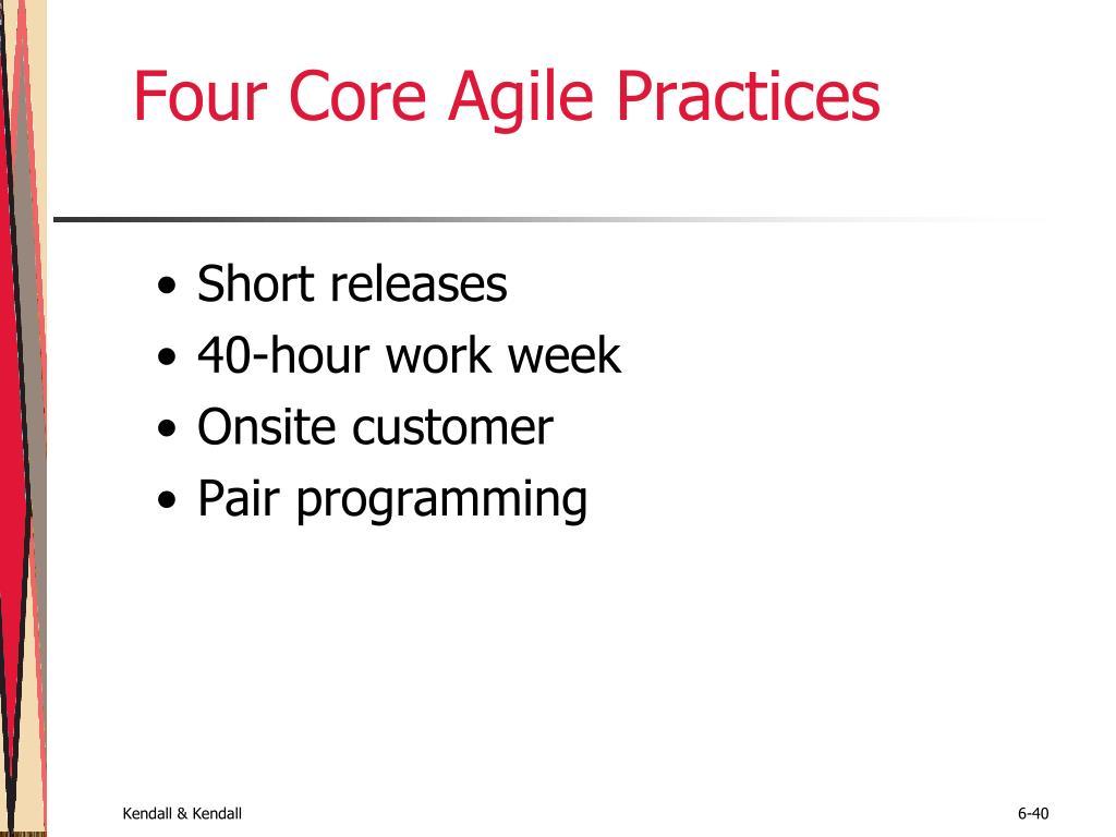 Four Core Agile Practices