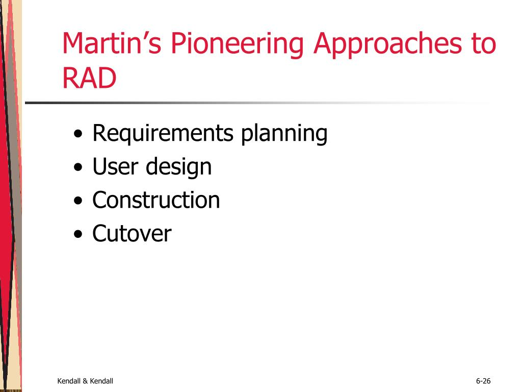 Martin's Pioneering Approaches to RAD