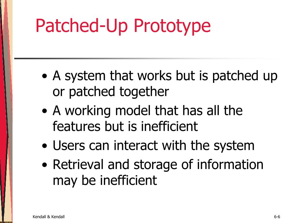 Patched-Up Prototype