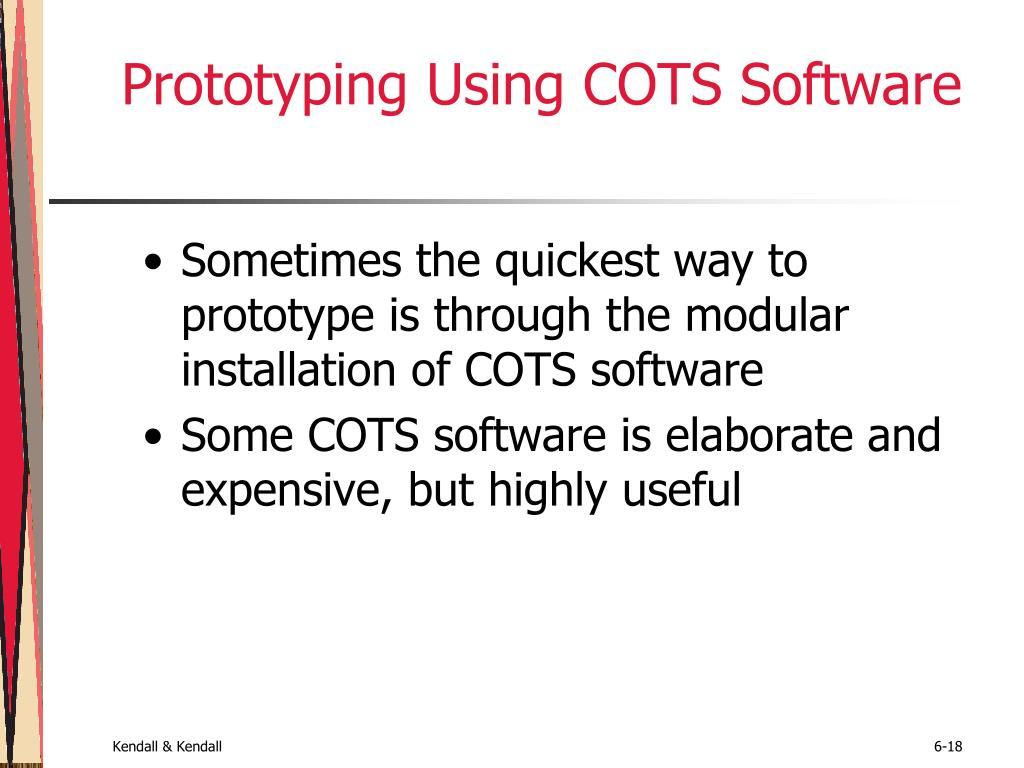 Prototyping Using COTS Software