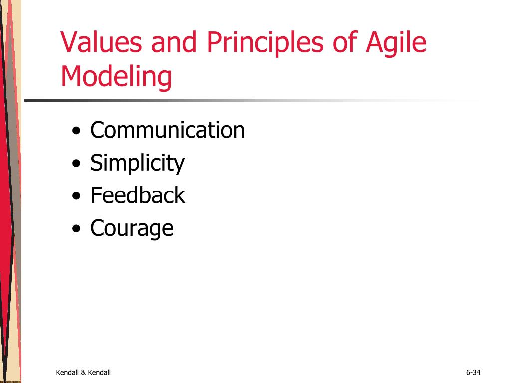 Values and Principles of Agile Modeling