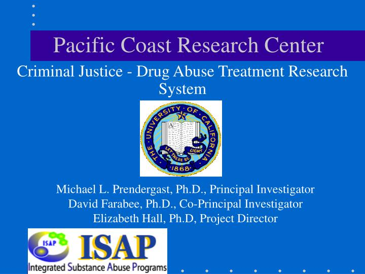 pacific coast research center n.