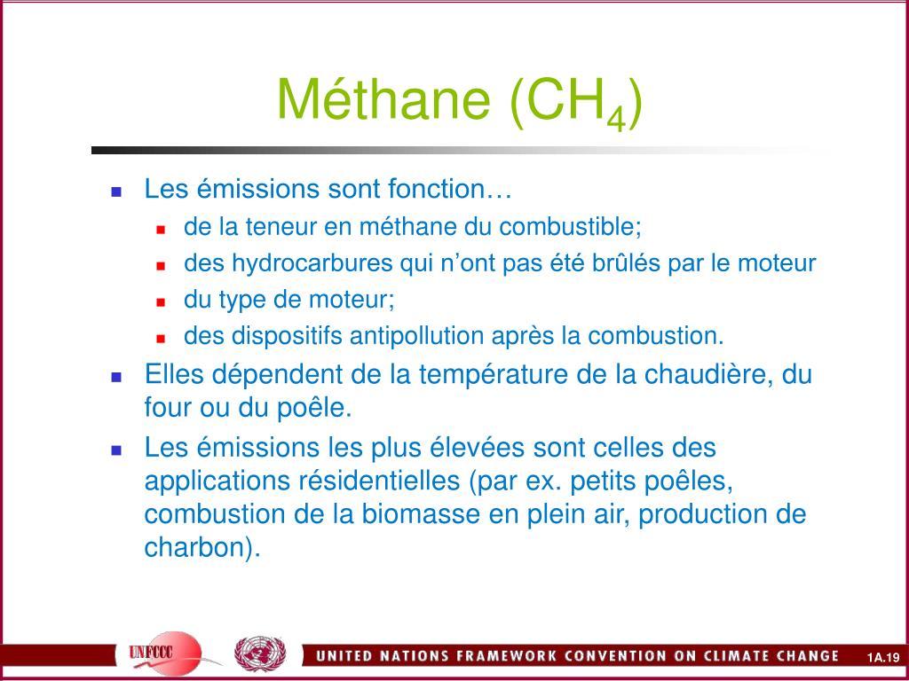 Méthane (CH