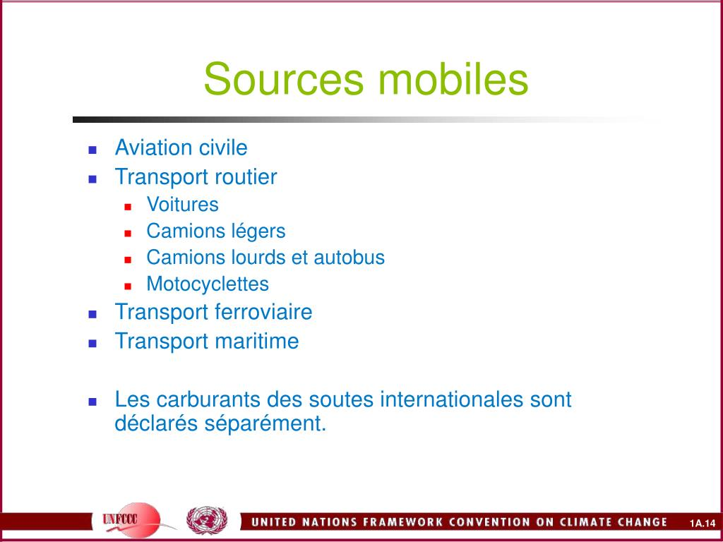 Sources mobiles