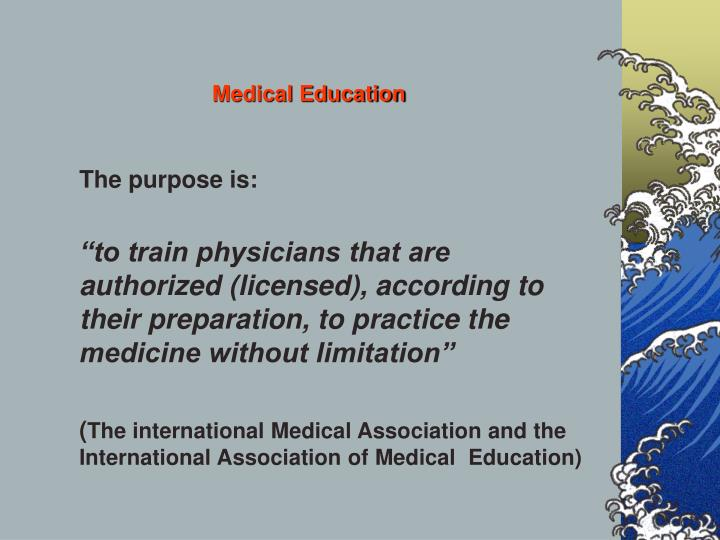 Medical education3