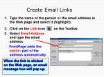 create email links