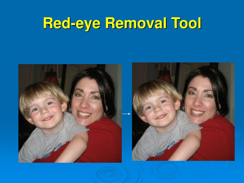 Red-eye Removal Tool