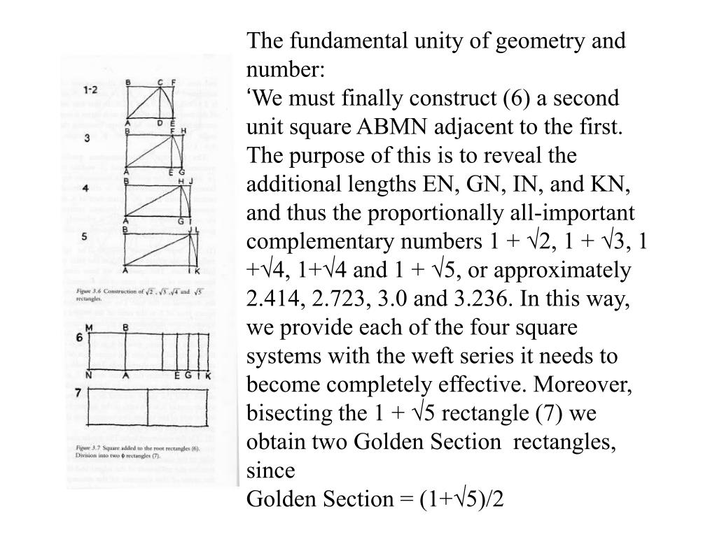 The fundamental unity of geometry and number: