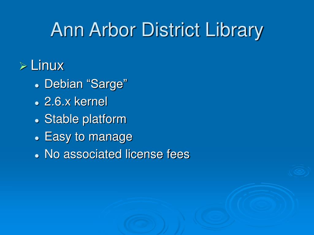 Ann Arbor District Library