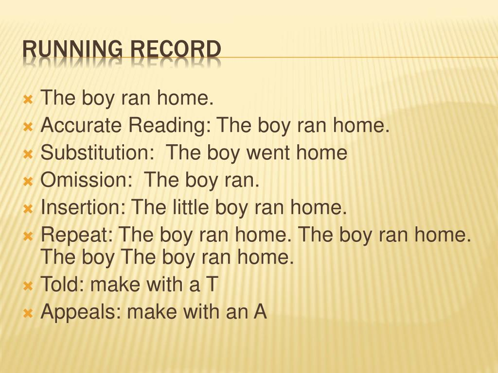 The boy ran home.
