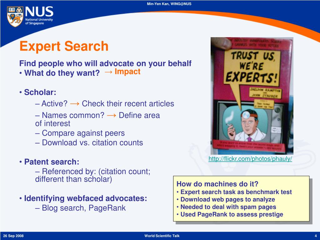 Expert Search
