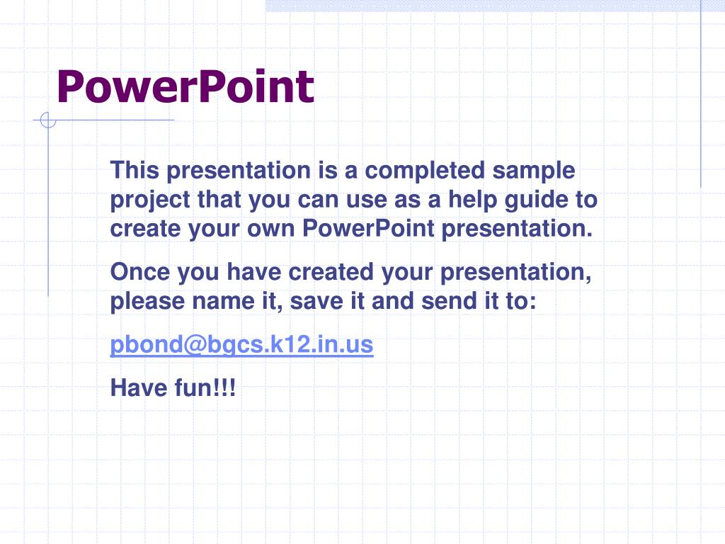 powerpoint l.