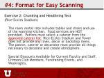 4 format for easy scanning23
