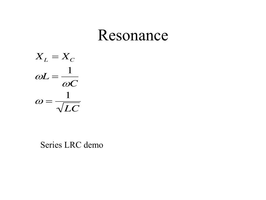 Resonance