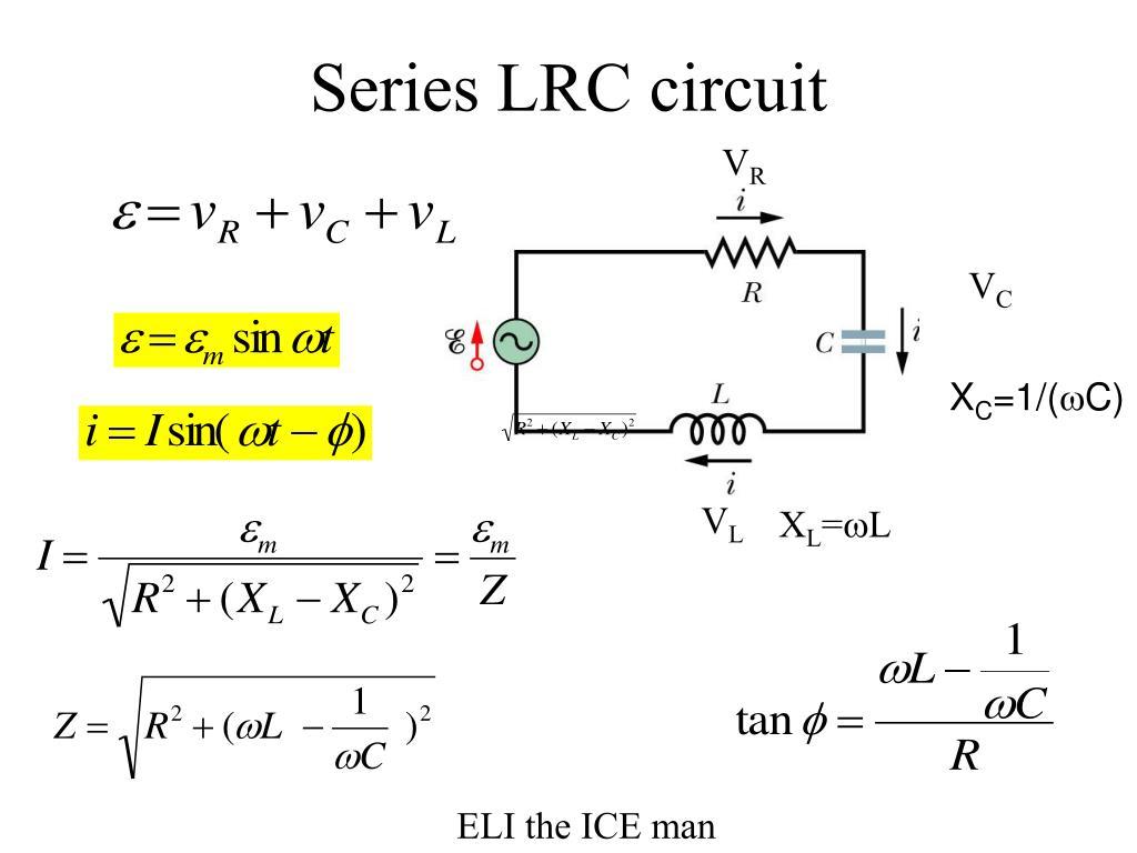 Series LRC circuit
