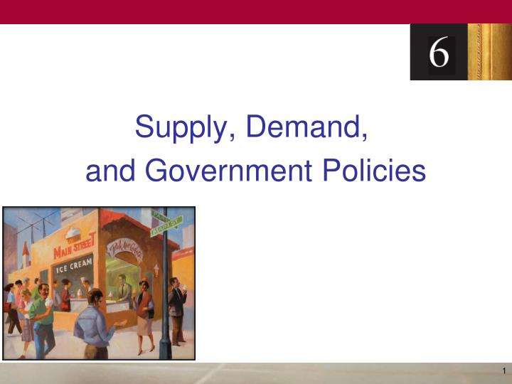 supply demand and government policies n.