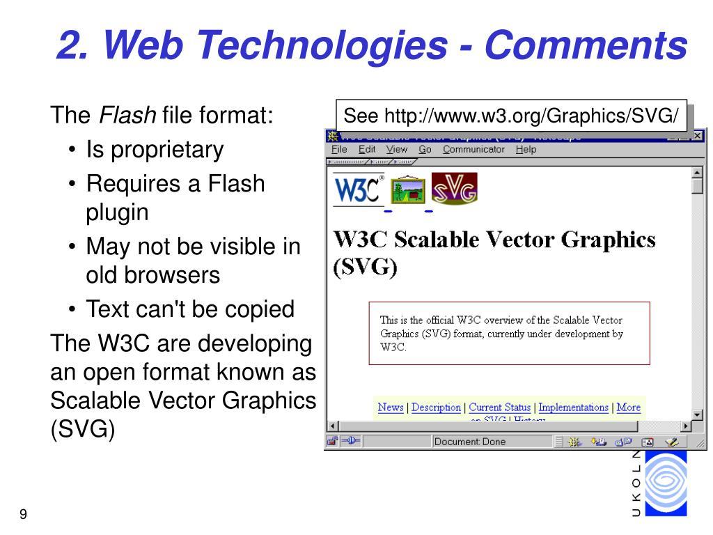 2. Web Technologies - Comments
