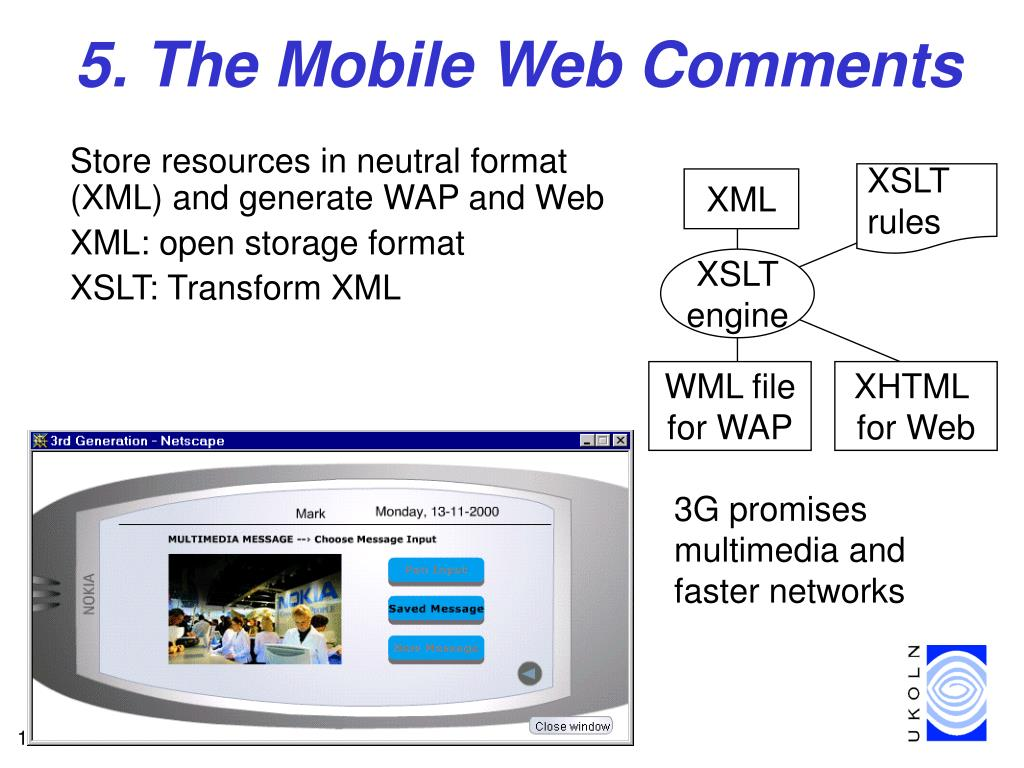 5. The Mobile Web Comments