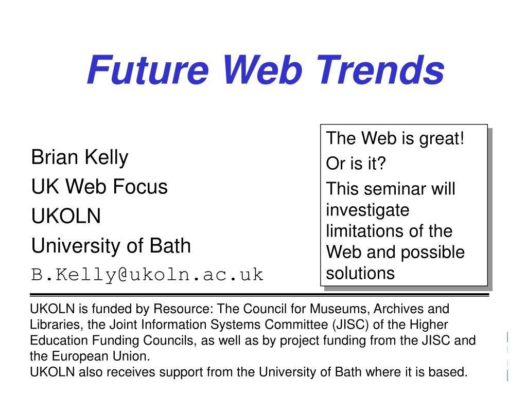 future web trends l.