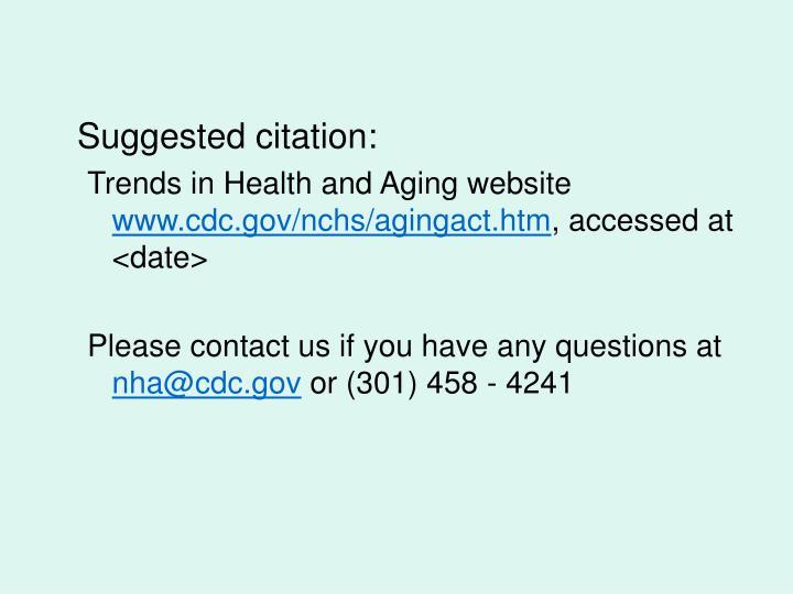 Suggested citation: