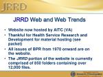 jrrd web and web trends64