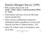 danish eshopper survey 2 99