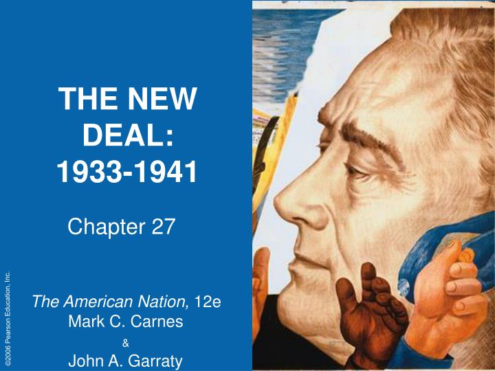 the new deal 1933 1941 n.