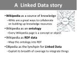 a linked data story