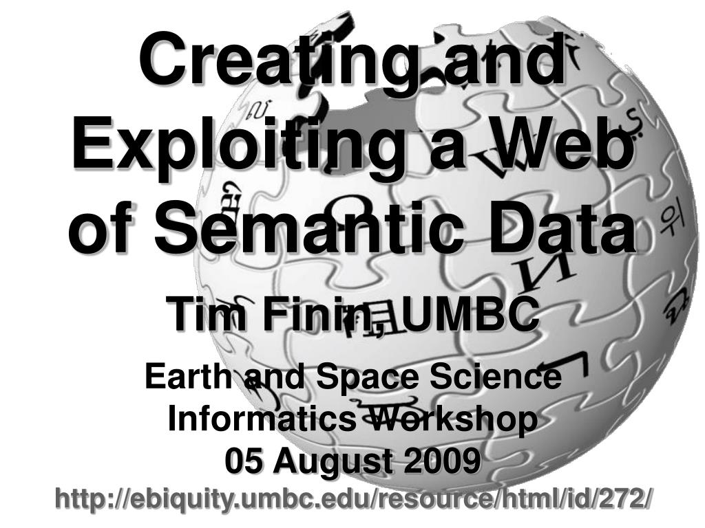 creating and exploiting a web of semantic data l.