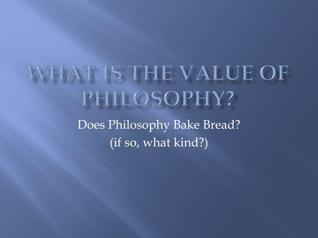value of philosophy Market-based management (mbm) is koch's business philosophy that focuses on creating value for society and giving individuals the tools to thrive.