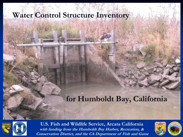 water control structure inventory n.