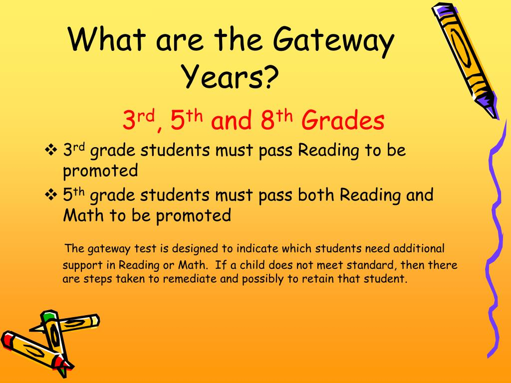 What are the Gateway Years?