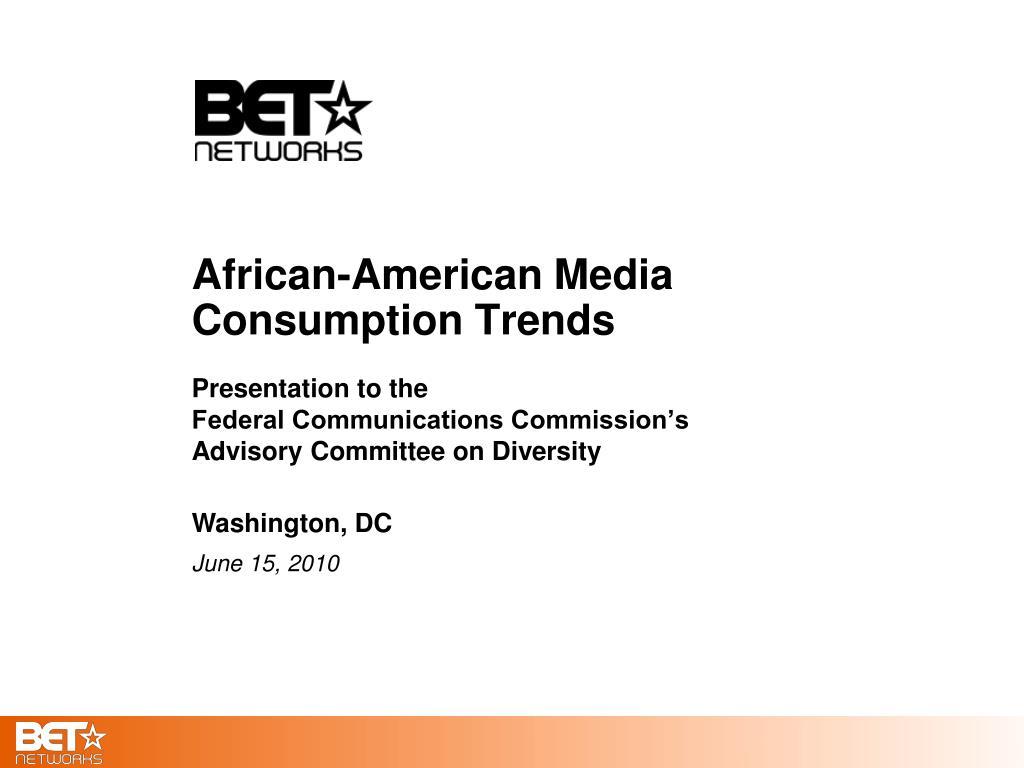 african american media consumption trends l.