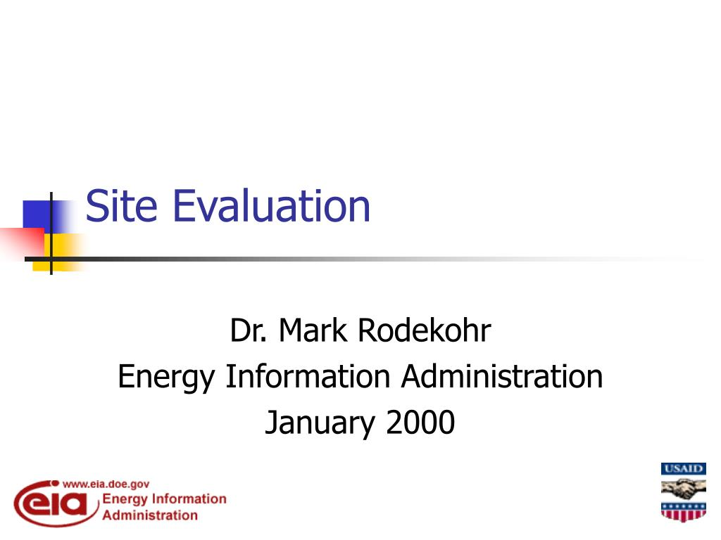 site evaluation l.